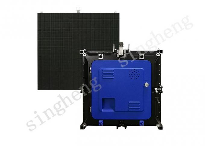 Customized Size P6 Rental LED Display Screen ≥6500cd/sqm Excellent Brightness