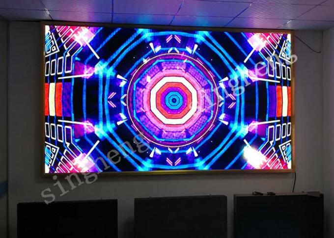 2.5mm Pixel Pitch Indoor Advertising Led Display Screen Super Slim High Durability