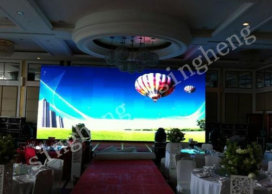 Outdoor Mobile Rental LED Display 4.81mm Pixel Pitch Good Heat Dissipation, Movable Screen