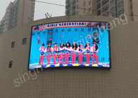 High Refresh Rate Outdoor LED Advertising Screens 14 Bit Color P4 Wall Board
