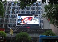 Vivid Video Outdoor LED Advertising Screens High Contrast Rate Up To 5000 / 1