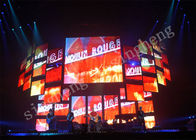 P4 Large Led Display Panels 1R1G1B Pixel Configuration 50 / 60Hz Frame Frequence