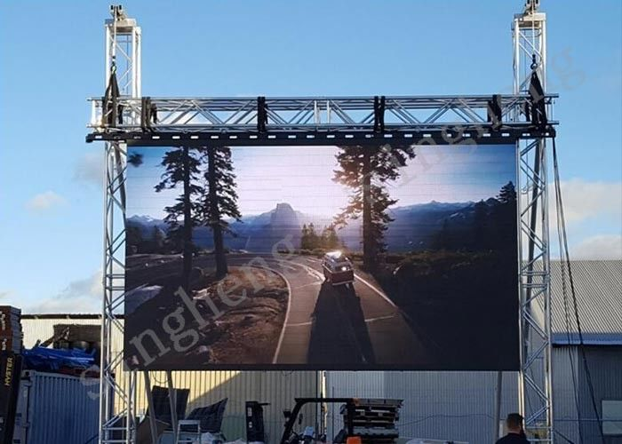 Stage P4.81 Rental LED Display Panels Highly Clear Information Dissemination