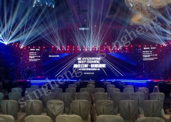 High Level Protection P5 Indoor Led Display , Led Video Panel Rental Constant Drive Type