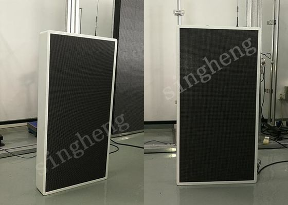 Advertising Outdoor Pole LED Display 256*128mm Module Size Waterproof