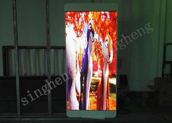 P5 Lamp Post Led Advertising Board Epistar LED Chip Constant Drive Type