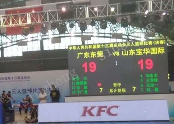 Epistar Chip LED Scoreboard Display P10 10% ~ 85% RH Operating Humidity