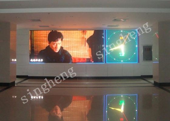 64x64 Resolution P3 Large Led Display Advertising Screen , Led Video Wall Panels 192*192 Module Size