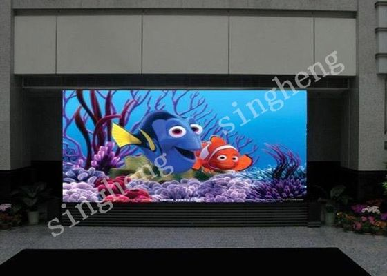 Digital Large LED indoor Advertising Screens 3mm Pixel Pitch Brightness >1200 nits
